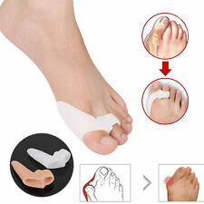 1/2/5 Gel Silicone Foot Toe Bunion Pain Relief Straighteners Separator Alignment