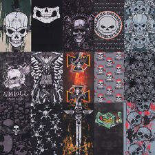 Skull Magic Head Face Mask Snood Bandana Neck Hat Outdoor Biker Wrap Shawl Scarf