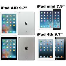 "Apple iPad mini mini 2 7.9"" iPad Air iPad 4th 9.7"" 16GB/32GB/64GB WiFi Only M2R2"