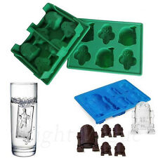 Silicone Star Wars Ice Cube Tray Mold Cookies Chocolate Soap Baking Mould 0051