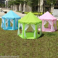 Princess Castle Playtent Activity House Fun Children's Indoor Outdoor Playhouse