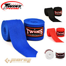 5m TWINS Pro Muay Thai Kick Boxing MMA UFC Hand Wraps Cotton Handwraps