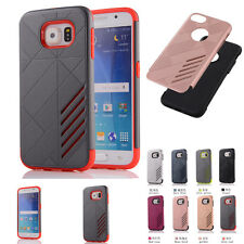 New Heavy Duty Hybrid Rugged Rubber Hard Case Cover Skin For SAMSUNG GALAXY S6