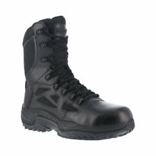 """Reebok Work Men's   Rapid Response RB RB8875 Stealth 8"""" Tactical Boot Black Size"""