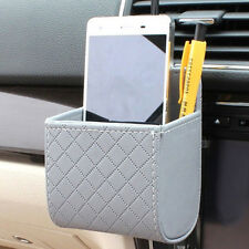 Car Auto Air Outlet Storage Pouch Box Bag Organizer Cell Phone Pocket Holder  HU