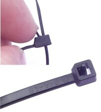 200mm REUSABLE RELEASABLE Black or Natural STRONG CABLE TIE ZIP TIDY WRAP STRAP