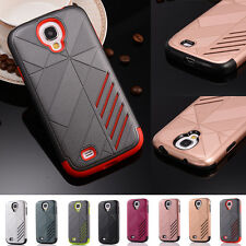 New Hybrid Shockproof Hard Case Cover for Samsung Galaxy S4 i9500 S5 i9600 G900