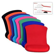 NEW Cozy Wrist Rest Support Mouse Mat Game Mice Pad for PC Laptop Computer