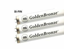Wolff GoldenBronze F71 100/120W Bi-Pin Tanning Bed Bulbs