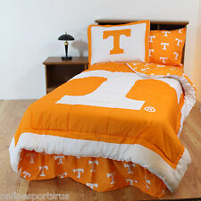 Tennessee Volunteers Bed in a Bag Twin Queen King Size Comforter Set cc