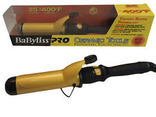 "Babyliss Pro Ceramic Tools Professional 1-1/2"" Hair Spring Curling Iron CT155S"