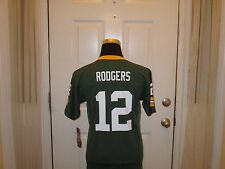 Brand New w/Tags Green Bay Packers Aaron Rodgers #12 NFL Jersey Youth Sizes Nice