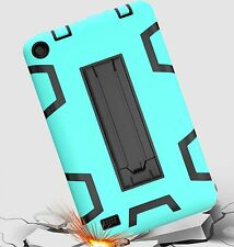 "Shockproof Rugged Hard Stand Cover for Amazon Kindle Fire 7"" 2015 Tablet Case"