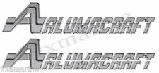 Two 16 inch Aluma Craft Remastered Decal Set Die-Cut