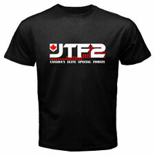 JTF2 Canadian Special Ops Force Army Military Men's Black T-Shirt Size S M L XL