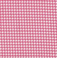 Hot Pink Houndstooth (#100) - Cat, Chihuahua, Beagle, Westie, Border Collie