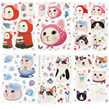 So Cute Jetoy Kitty PVC  Water Proof Sticker Decoration Scrapbooking DIY Diary