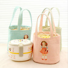 Thermal Insulated Lunch Box Picnic Pouch Storage Portable Cute Bag Tote Cooler