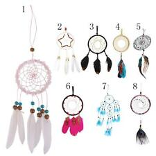 Various Feather Beads Dream Catcher for Home Wall Hanging Decor Car Ornament