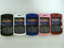 New Hard Plastic Matte Cover Case Design For Blackberry Bold 9700 & 9780