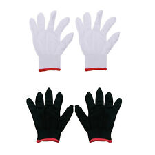 12 Pairs Nylon Safety Coating Work Gloves Builders Grip Protect S M L EP~