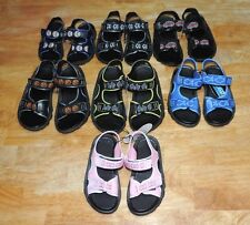 Chatties Or Shocked Toddler Sandals Sizes  7-8, 9-10, 11-12 Boy/Girl NEW!
