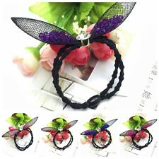 Cute Rabbit Ear Ribbon Crystal Headband Scarf Hair Tie Head Hair Band Bow Gifts