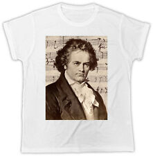 Beethoven T-Shirt Classical Music Composer Frame Gift Present Unisex Tshirt