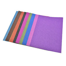 Pop A4 Glitter Card 10 Sheets Same Colour Soft Touch DIY Craft Invitations Party