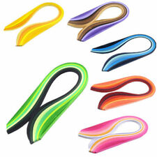 Quilling Paper Solid Color DIY Origami Paper 120 Stripes Hand Craft 3mm Width