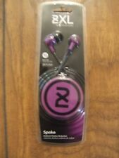 2XL Spoke In-Ear only Headphones,different color  (RAINBOW OR PURPLE)select one