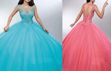 Hot Quinceanera Gown Formal Prom Party Pageant Ball Dresses Bridal Wedding Dress