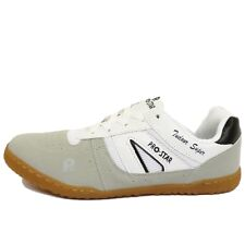 MENS SPORTS LACE-UP WHITE GREY RUNNING WALKING GYM TRAINERS CASUAL SHOES 6-11