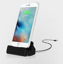 Desktop Charger STAND DOCK STATION Sync Charge Cradle for Apple iPhone 7 4.7PLUS
