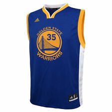Adidas NBA Kevin Durant Golden State Warriors (Youth) Replica Road Jersey