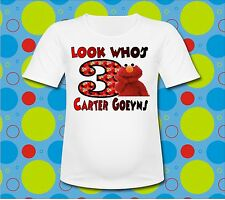 Personalized look Whos Elmo T Shirt all sizes Elmo T Shirt Sesame Street
