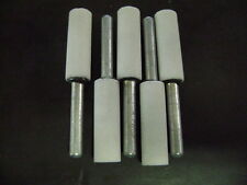 """Stone Grinding Tool Mounted Point 1/4"""" Shaft  Cylindrical 5 PACK"""