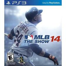 MLB 14: The Show (Sony PlayStation 3, 2014) PS3 NEW Factory Sealed Free Shipping