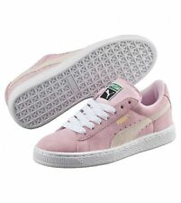 Puma Suede Rose White Classic Sneakers Trainers