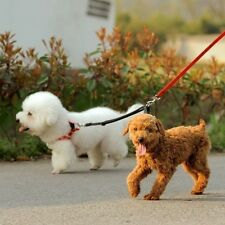 Nylon Two Ways Double Dogs Couple Walking Pet Cat Dog Leash