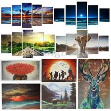 5PCS Canvas Huge Modern Home Wall Decor Art Oil Painting Picture Print No Frame
