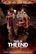 This Is The End Ver B Original Movie Poster Dbl Sided 27x40
