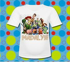Personalized Toy Story 4 T Shirt All Sizes Woody Buzz T Shirt Wood font