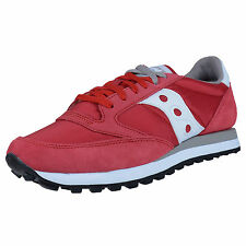 SAUCONY JAZZ ORIGINAL RETRO RUNNING SNEAKERS RED S2044-311