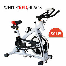 2017 Exercise Bike Indoor Cycling  Fitness Stationary Bicycle Cardio Workout LOT