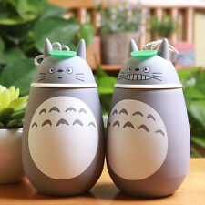 Cute Totoro Creative Couple Stainless Steel Vacuum Cup Travel Mug Thermos Bottle