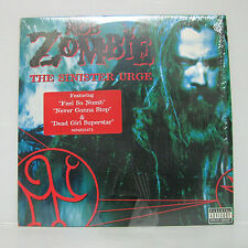 ROB ZOMBIE - The Sinister Urge LP 2001 US Orig White MINISTRY MARILYN MANSON