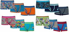 Boys 3 Pack  Boxer Shorts Assorted Colours and designs 7-8 9-10 11-12 13 Years
