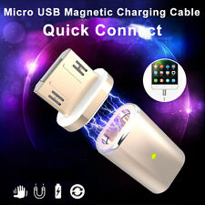 Micro Magnetic USB Adapter Quick Charger Converter For Android Smartphones