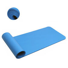 Yoga Mat Towel Non-slip Thick Exercise Fitness Absorbent Exercise Nature 10mm